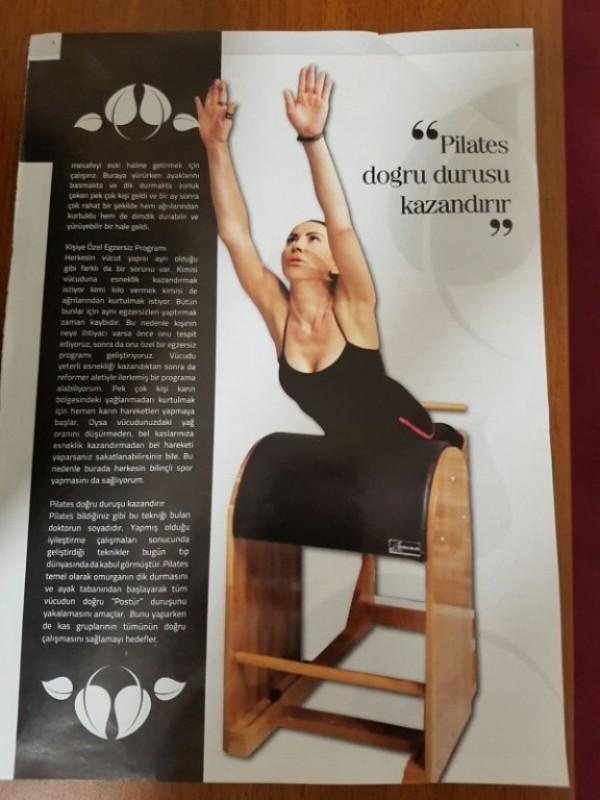 Pilates Doğru Duruşu Kazandırır